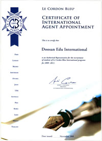 agent certificate